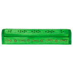 green wood incense stick box