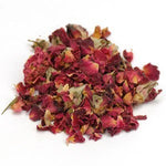 pile of dried rose buds and petals
