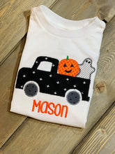 Load image into Gallery viewer, Boys Halloween Embroidered Shirt Flash Sale