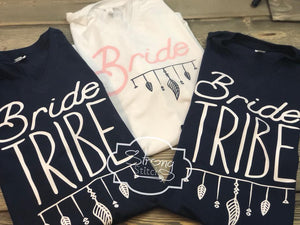 Bride Tribe Bachelorette Shirts