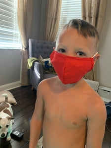 Kids nose wire solid mask
