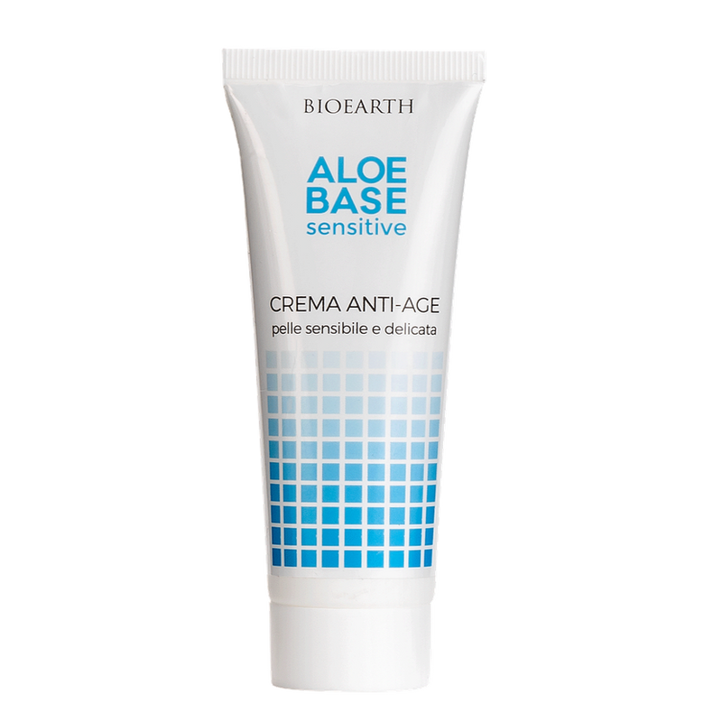 Bioearth - Aloebase Sensitive Crema anti-age