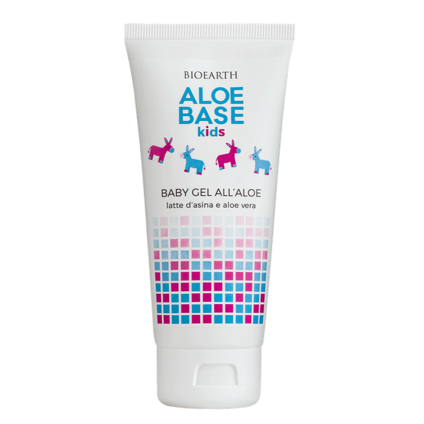Bioearth - Aloebase Kids baby gel lenitivo all'aloe