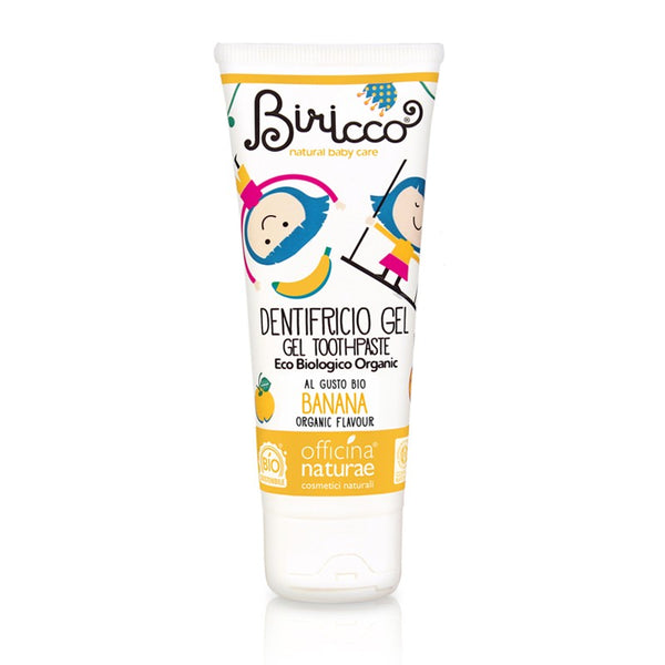 Officina Naturae - Biricco Dentifricio Gel Banana