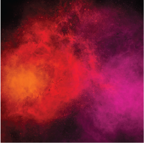 Red Purple Galaxy