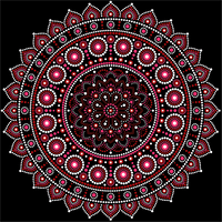 Aboriginal Inspired Mandala