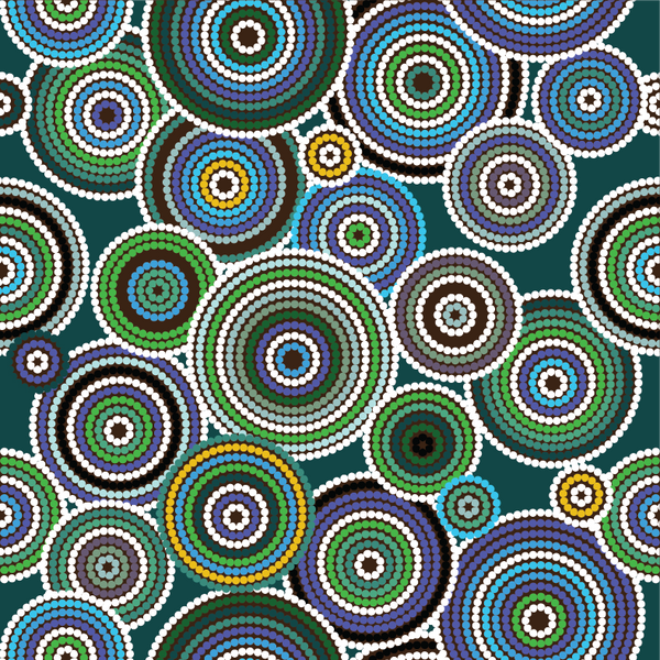 Aboriginal Art 1 Sublimation / Infusible ink Sheet