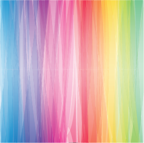 Stripey Rainbow Sublimation / Infusible ink Sheet