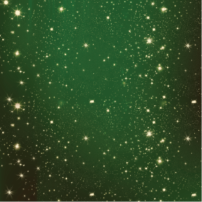 Green Starry Night