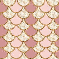 Pink Gold Patterned Scales