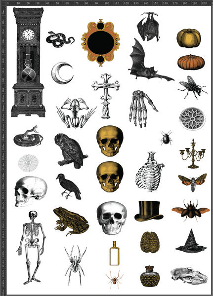Halloween A4 Transfer Sheet