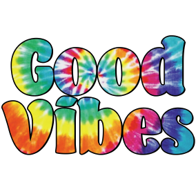 Good Vibes Sublimation/Infusible Ink Sheet