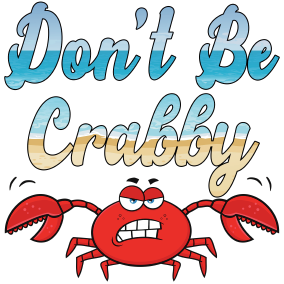 Don't Be Crabby Transfer/Waterslide