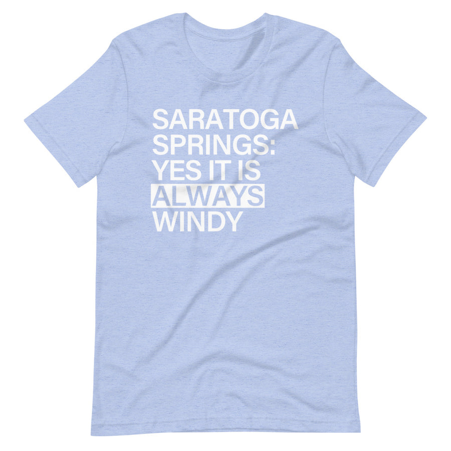 Saratoga Springs Windy | T-Shirt