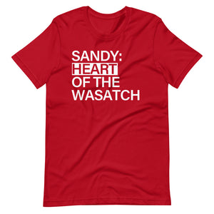 Sandy Heart of Wasatch | T-Shirt