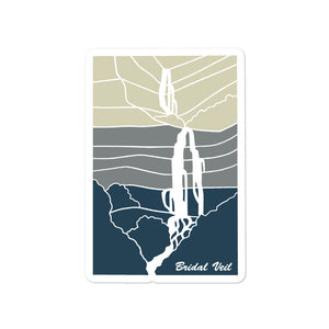 Bridal Veil III | Utah Sticker