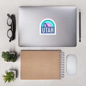 Utah Arch Sunset | Sticker