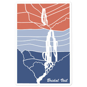 Bridal Veil | Utah Sticker