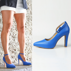 Maya Pumps - Blue
