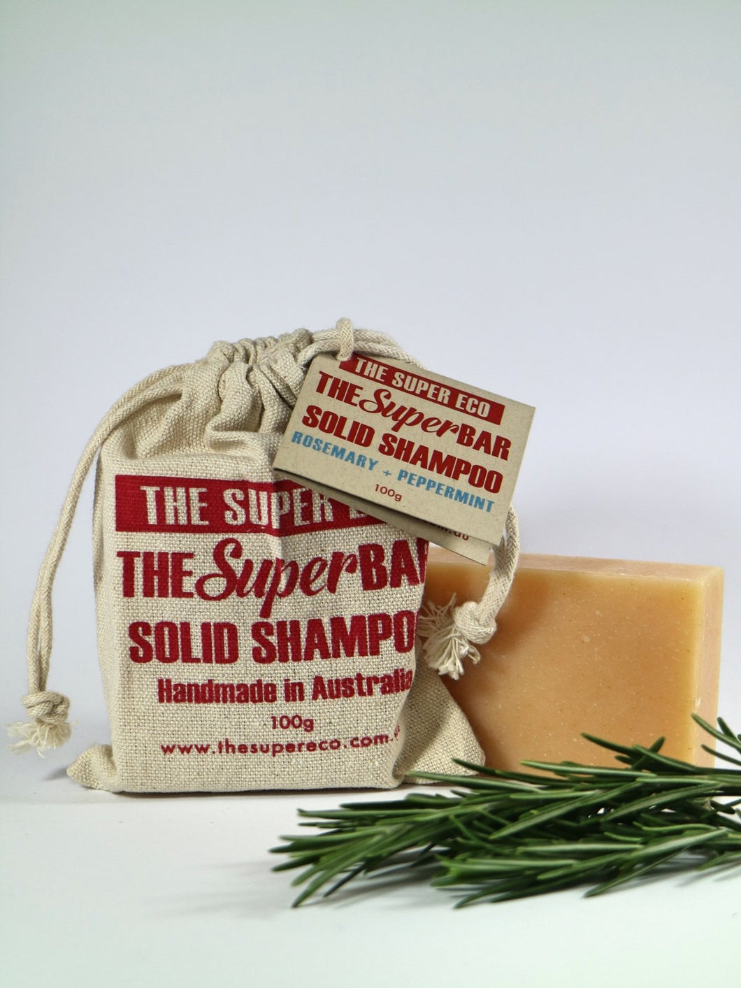 Solid Shampoo Bar • Rosemary & Peppermint