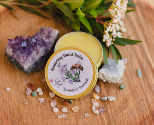Restoring Beeswax Hand Balm with Lavender and Patchouli