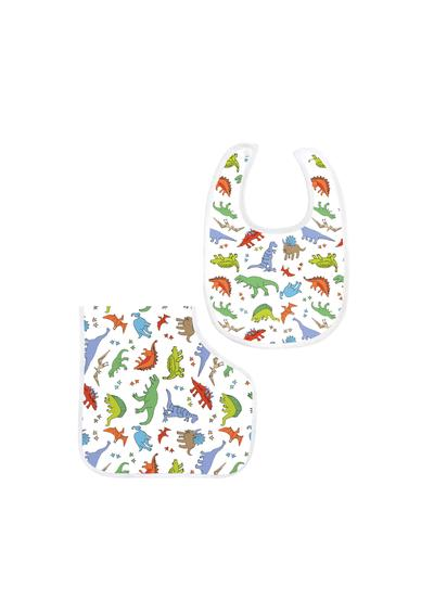 Bamboo Bib & Burp Set