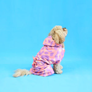 Party Leopard Doggy Towel