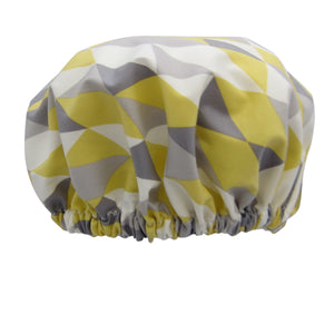 Shower Cap Geo Organic Cotton