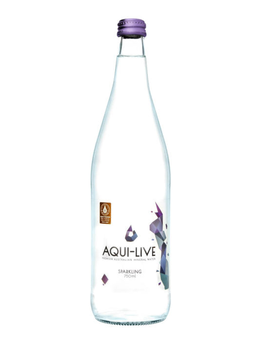 Aqui-Live Sparkling MIneral Water – Box of 12