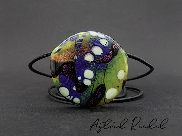 Blown disc, Magical - by Astrid Riedel