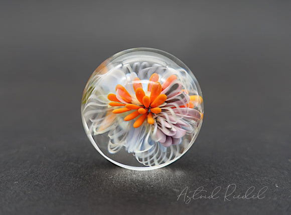 Copy of Glass Marble pendant- Gentle Breeze
