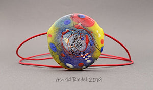 Blown disc, Abstract  - by Astrid Riedel
