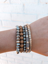 Load image into Gallery viewer, Move Over Bracelet Set, Mocha