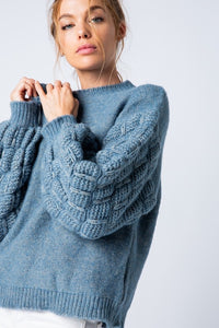 Brynlee Bubble Sweater