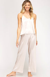 Marlow Satin Pajama Set