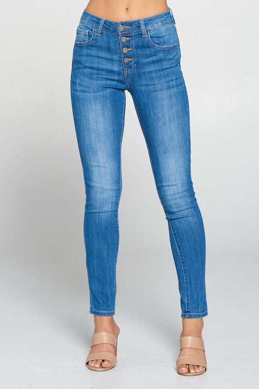 Ralph Skinny Jean, Medium Wash