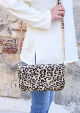 Load image into Gallery viewer, Lauren Crossbody, Tan Leopard