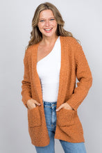 Load image into Gallery viewer, Let You In Cardigan, Burnt Orange