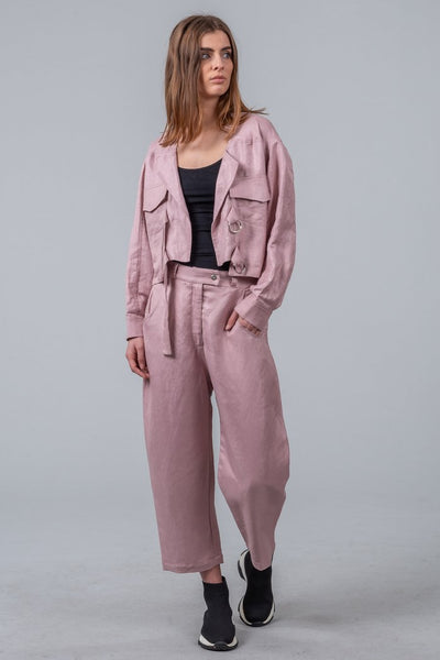 Mild Red Chill Out Pants - Blush