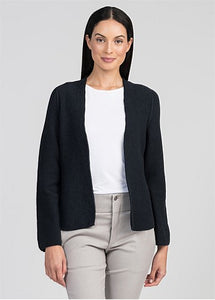 Untouched World Eco Knit Blazer - Navy