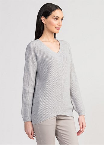 Untouched World Alba Sweater - Silver