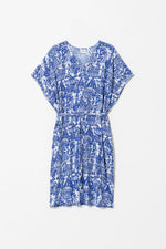 Load image into Gallery viewer, Elk Cirkus Dress - Blue/White Print