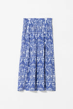 Load image into Gallery viewer, Elk Cirkus Skirt - Blue/White Print