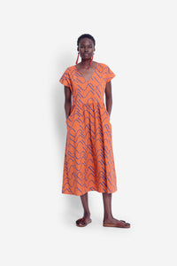 Elk Ollie Organic Dress - Copper