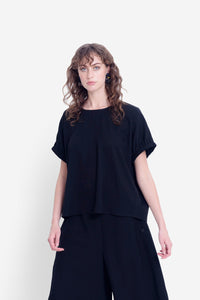 Elk Bilds Top - Black