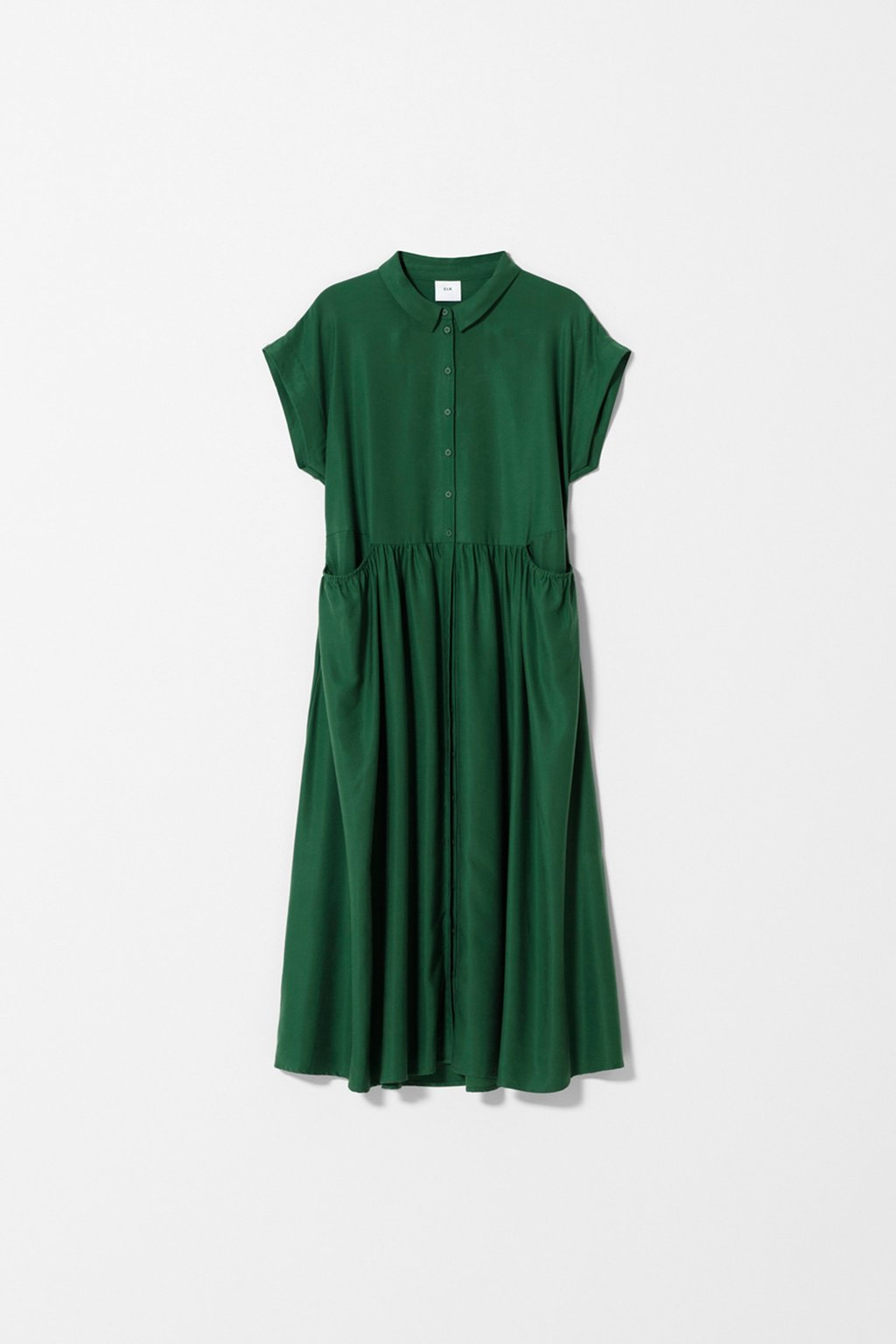 Elk Garden Dress - Pesto