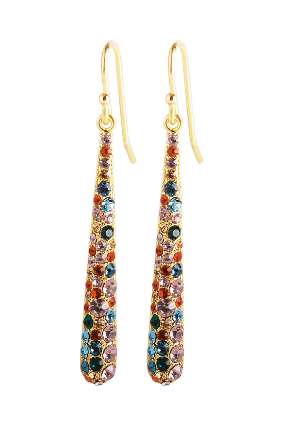 Dyrberg/Kern Shiny Gold Blaze Earrings