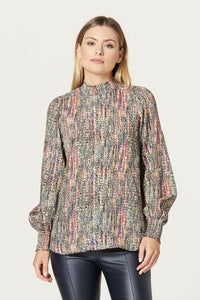 Cable Kylie Blouse - Kaleidascope