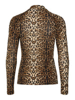 Load image into Gallery viewer, Lollys Laundry Ellen Blouse - Leopard