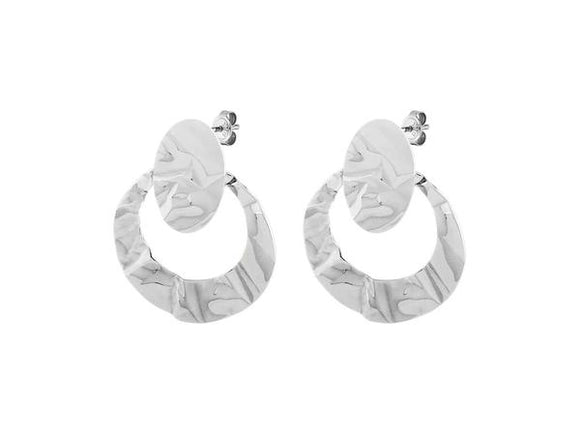 Dyrberg/Kern Fianca Shiny Silver Earrings